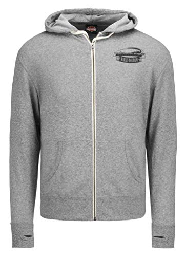 Harley-Davidson Mens Screamin' Eagle Touchdown Eagle Zip Hoodie HARLMS0084 (2XL) -