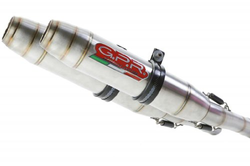 Ducati 748 Stabilizer - Ducati 748 916 996 GPR Exhaust Systems Deeptone Stainless Dual Slipon Mufflers Unrestricted Power