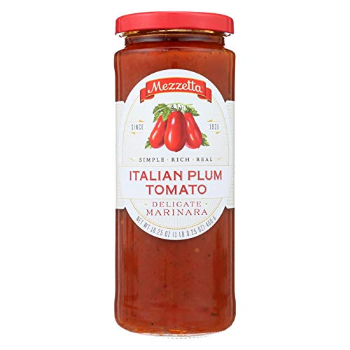Marinara Sauce Recipe - Mezzetta Italian Plum Tomato Marinara Sauce, 16.25 Ounce (Pack of 6)