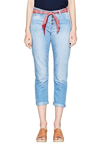 edc by Esprit Jeans Femme Bleu (Blue Light Wash)