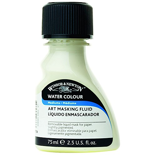 Winsor and Newton 75-Milliliter Watercolor Art Masking Fluid, Yellow