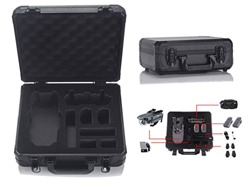 Pro Aluminum Hard Case (HUL Aluminum Hard Shell Carrying Case for DJI Mavic Pro)