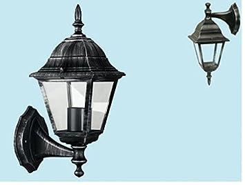 Plafoniere Da Muro Fai Da Te : Lanterna lampada lume applique esterno giardino muro discendente o