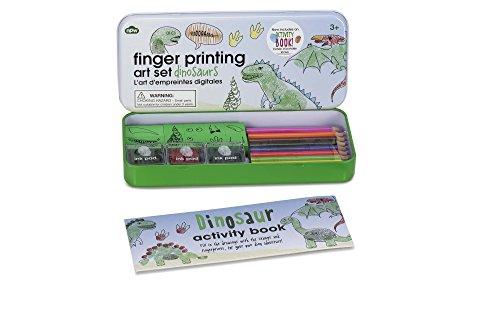 NPW USA Finger Printing Dinosaurs Crafts