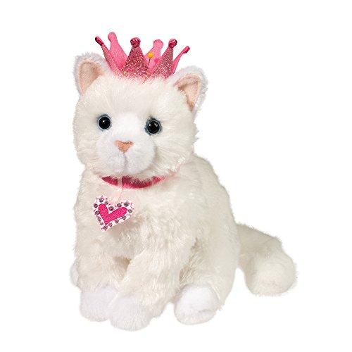 Douglas Duchess White Princess Cat Plush Stuffed Animal