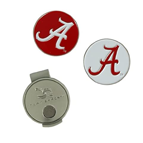 Alabama Crimson Tide Hat Clip and Ball Markers - Magnetic Ball Marker