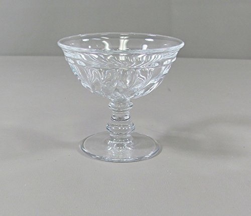 Fostoria Glass COLONY-CLEAR Champagne/Tall Sherbet(s) Mulit Avail Excellent ()