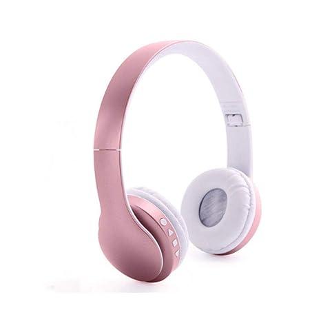 longdafei Auriculares Bluetooth Inalambricos de Diadema Cascos Plegables con Micrófono Micrófono/FM / TF Tarjeta