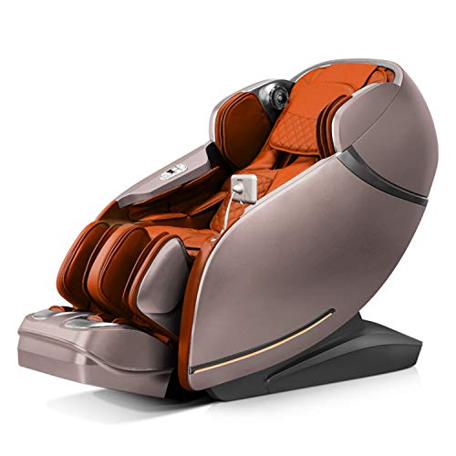 Relife Candid Ultimate 3D Realtime Zero Gravity Full Body Massage Chair – Smart Massage Chair –Orange
