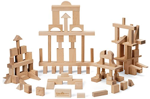 Maple Blocks Set - Maple Landmark Master Builder Block Set
