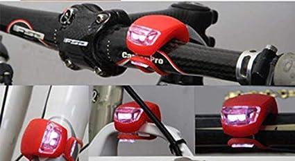 Amazon.com : F&J Luces LED delanteras y traseras para Bicicletas : Sports & Outdoors