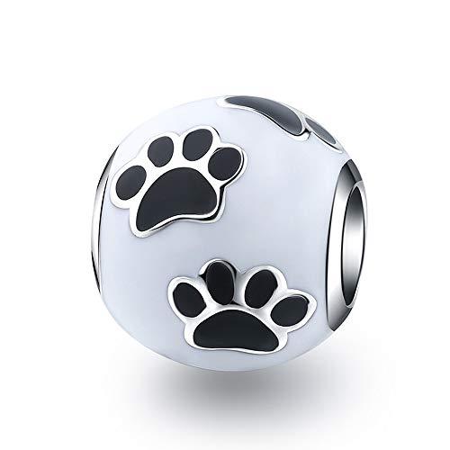 XQY Dog Paw Print Charms...