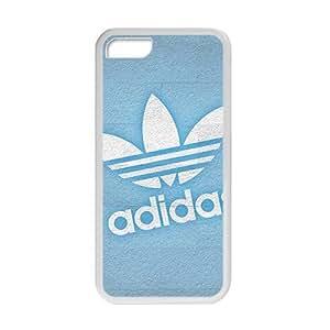 meilz aiaiQQQO Blue Adidas logo Phone case for iPhone 5cmeilz aiai