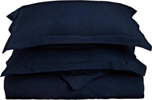 Charcoal Gray Clara Clark Premier 1800 Series 3pc Duvet Cover King Size