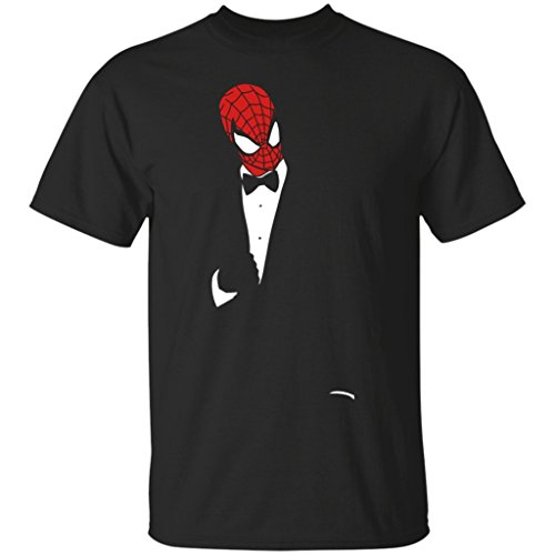 Tux Hero: Peter, Spiderman Funny, Marvel Comic T-Shirt-Unisex