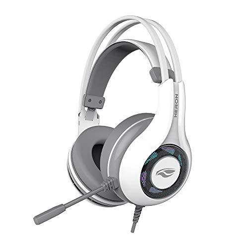 Fone com Microfone Game Usb Heron 2, C3Tech, Ph-G701Whv2, Microfones e Fones de Ouvido