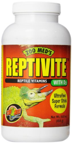Zoo Med Reptivite, with Vitamin D3, 16-Ounce by Zoo Med