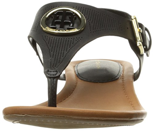 Hilfiger Heeled Tommy Kandess Women's Black Sandal UAdtdqw
