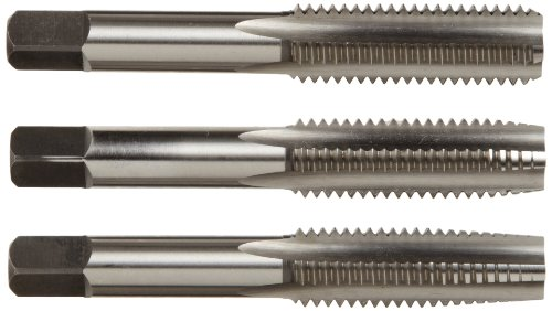 (Alfa Tools HSMTS171014 4mm by 0.7mm High-Speed Steel Tap Set (Taper/Plug/Bottom) Made In USA,)