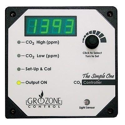 Co2 Ppm Controller (Grozone SCO2 - Single output CO2 Controller 0-5000 ppm)