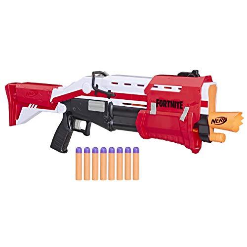 Lanca Dardos  Fortnite Reskin - Hasbro, Nerf, E7065, Vermelha