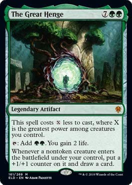 Magic: The Gathering - The Great Henge - Throne of Eldraine