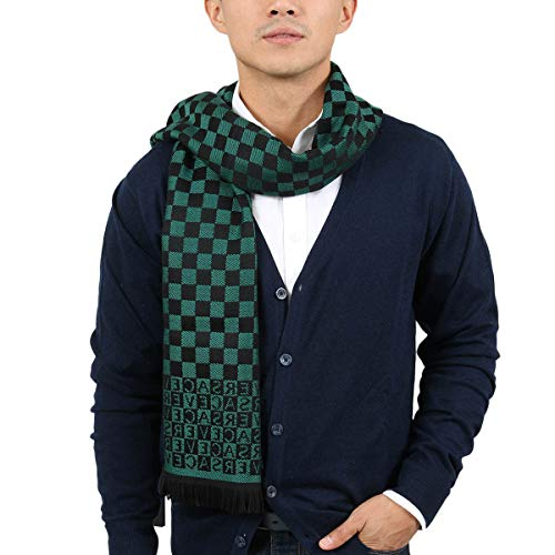 Monogram Scarf Green - 1