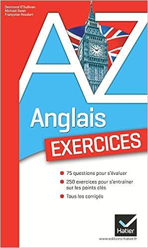 Amazon Fr Anglais Les Exercices Desmond O Sullivan
