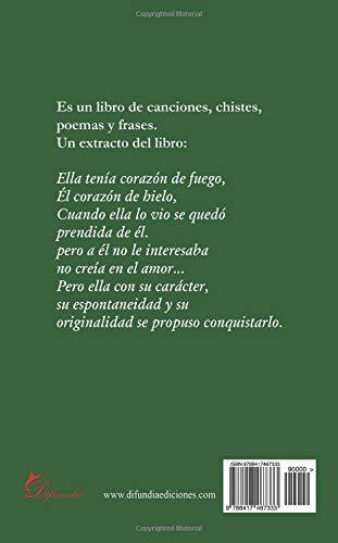 Canciones, chistes, poemas y frases: Amazon.es: Jessica Rodríguez Novillo: Libros