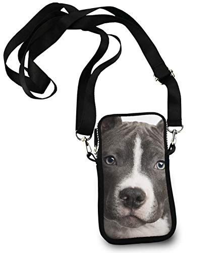 (Roomy Pockets Cell Phone Carry Case Pouch American Pit Bull Handbag Credit Card Totebag, Waterproof, Travel Golf bag)