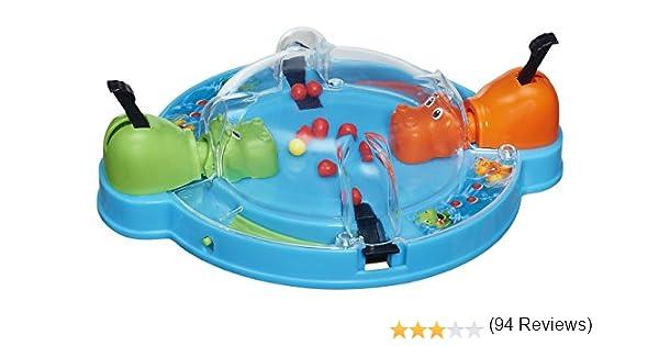 Hasbro Travel Hungry Hippo Game: Amazon.es: Juguetes y juegos