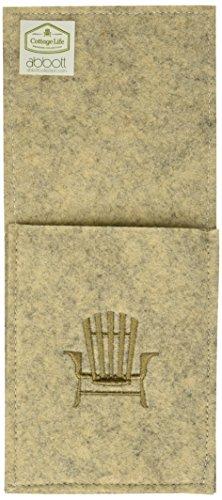 (Abbott Collection 1227-Cabin/Pkt Sand Flatware Pocket w/Chair)