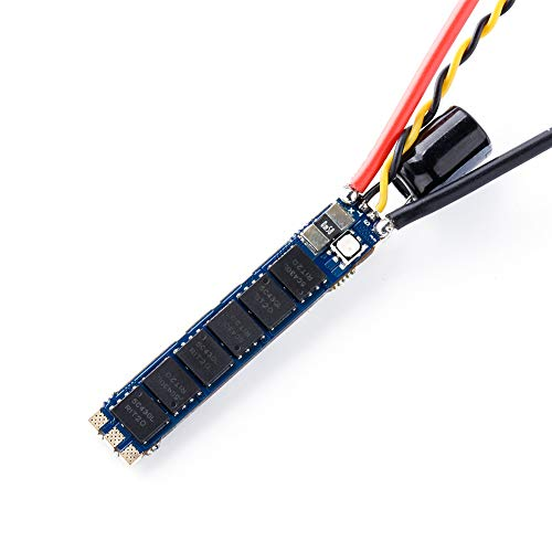 iFlight SucceX 50A Slick 2-6S ESC 32bit BLHeli_32 ESC DSHOT1200 with Telemetry Pad Built in Current Sensor and On-Board RGB LED for FPV Racing Drone Quadcopter(1pcs)