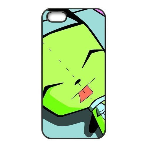 Alien Invader Zim Gir Pattern Design Solid Rubber Customized Cover Case for iphone 6 4.7 6 4.7-linda308