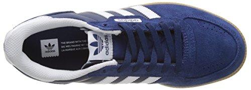 adidas Leonero, Zapatillas de Skateboarding Unisex Adulto Azul (Mystery Blueftwr Whitegum)