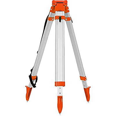 Heavy Duty Aluminum Tripod works with Total Stations, Auto Levels, etc
