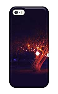KPhcNIR3038eFwAO Case Cover Protector For Iphone 5/5s Summer Night Magic Tree Table Lights Dark Black Nature Summer Case