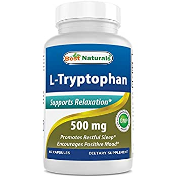 Amazon.com: Swanson L-Triptófano 500 mg 60 Caps: Health ...