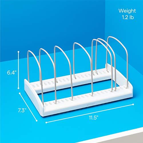YouCopia 50158 Bakeware Storemore Adjustable Rack, Standard, White