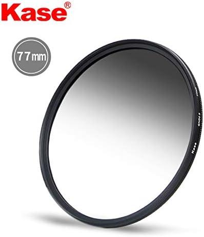 KASE 77mm スリム MC グレード ND フィルター 1.2 4 ストップ GND ニュートラルデンシティー GND16 ショットB270 光学ガラス 防水 スクラッチプルーフ ナノ マルチコーティング