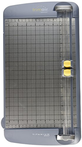 Westcott 12-Inch Premier TrimAir Ti Multi Purpose Trimmer, Wide Body (15192) (200 Sheet Paper Cutter)
