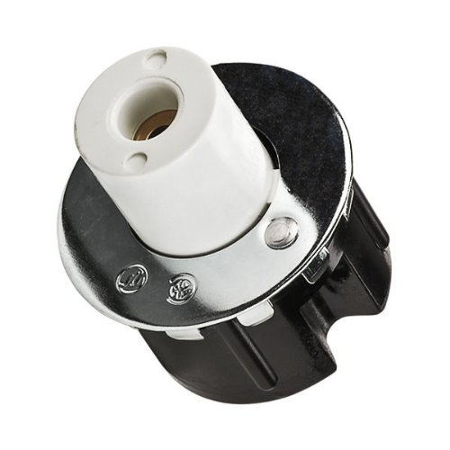 Leviton L516 - T8 or T12 Slimline - Plunger Lampholder - Single Pin Socket (Single Pin Socket)