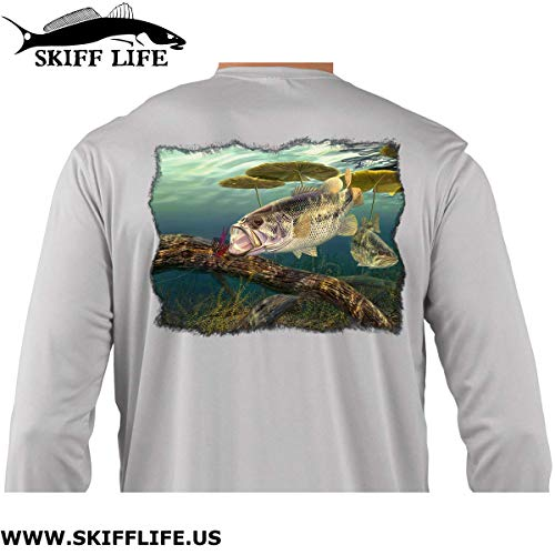 Skiff Life Bass Fishing Shirts by Artist Randy McGovern