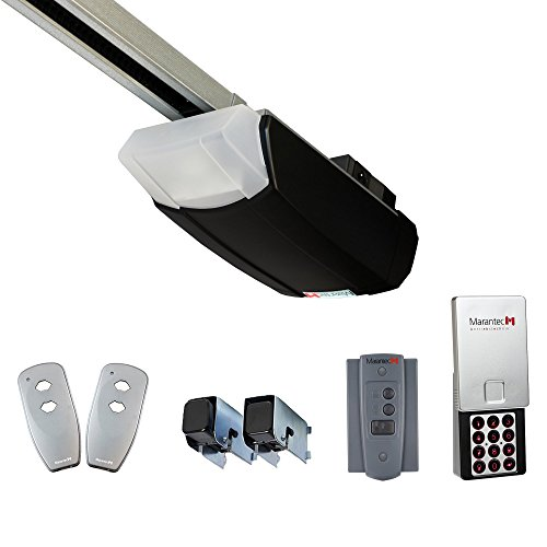 - Marantec Synergy Solo Garage Door Opener 7 FT with Wireless Keyless Entry and Accessories