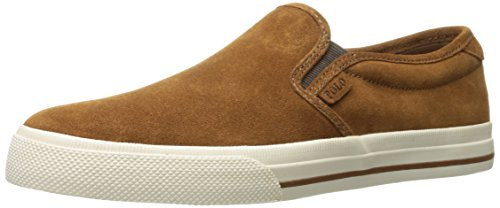 Lauren Slip On New Ralph Trainers Snuff Vaughn Suede Mens 4qBwaavx