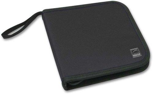 Speedlink Plico Tasche für 12 DVD/CD/Blu-ray-Disc (zur sicheren Aufbewahrung ihrer Datenträger, für unterwegs im Auto oder zuhause)
