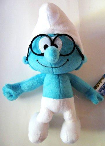 Smurfs Brainy Large Plush Toy 12'' by NANCO