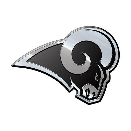 NFL Los Angeles Rams Premium Metal Auto Emblem