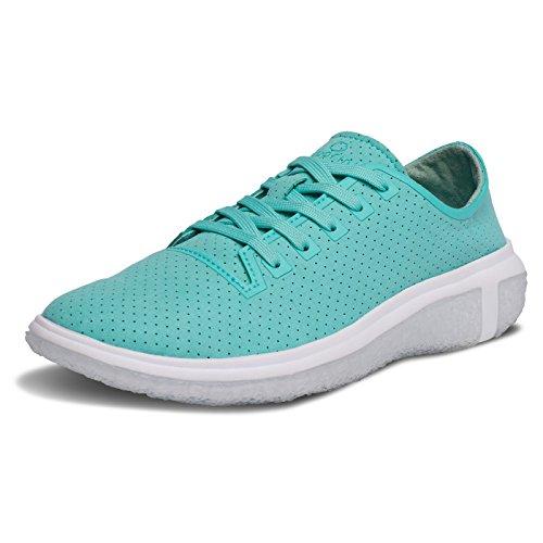 BluPrint LA Costa Trainer Womens Fashion Sneaker For Running and Walking Cloud Imprint Comfort Technology, Ocean Blue, 7 D(M) US
