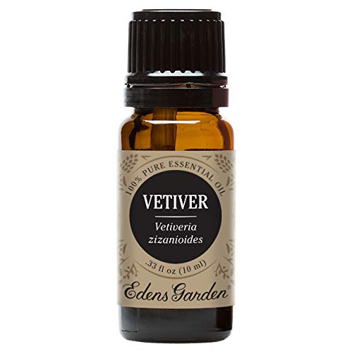 Edens Garden Vetiver 10 ml 100% Pure Undiluted Therapeutic Grade Essential Oil GC/MS Tested (Best Meds For Pmdd)